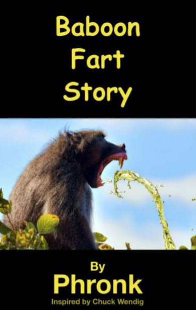 Baboon Fart Story: Now Available Here For Your, Erm, Pleasure?