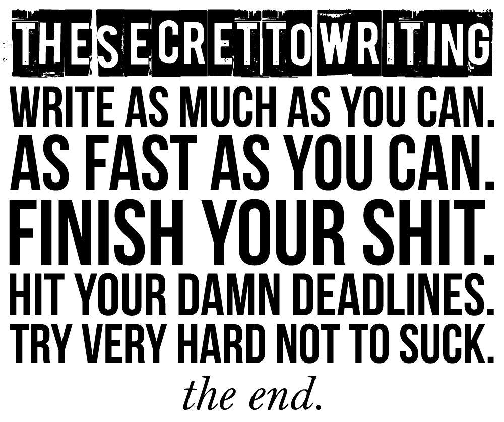 secret-to-writing