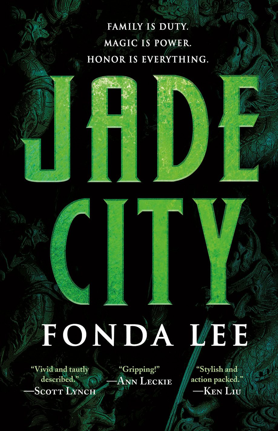 Fonda Lee: Jade City, An Anti-Nanowrimo Case Study