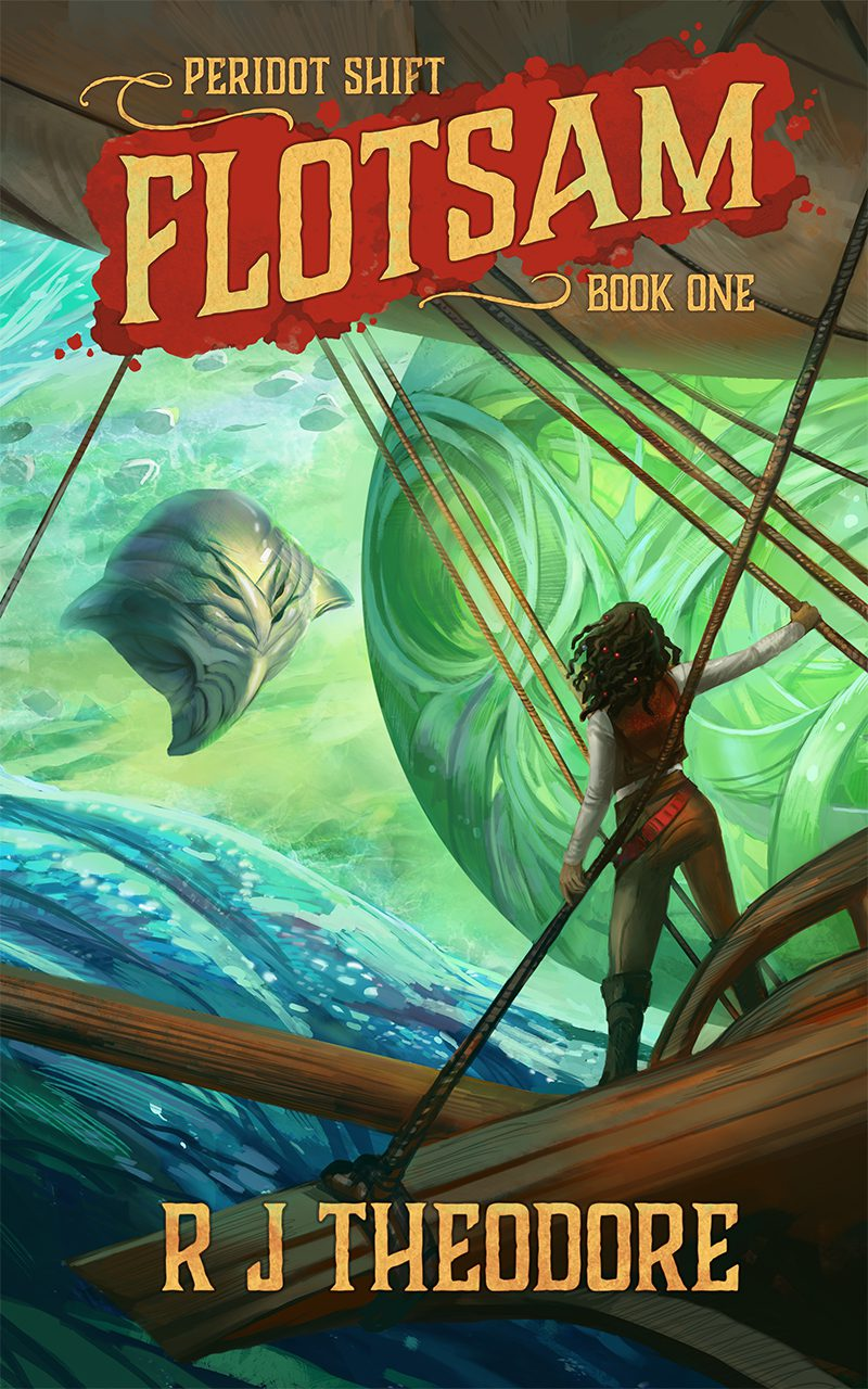 R.J. Theodore: Five Things I Learned Writing Flotsam