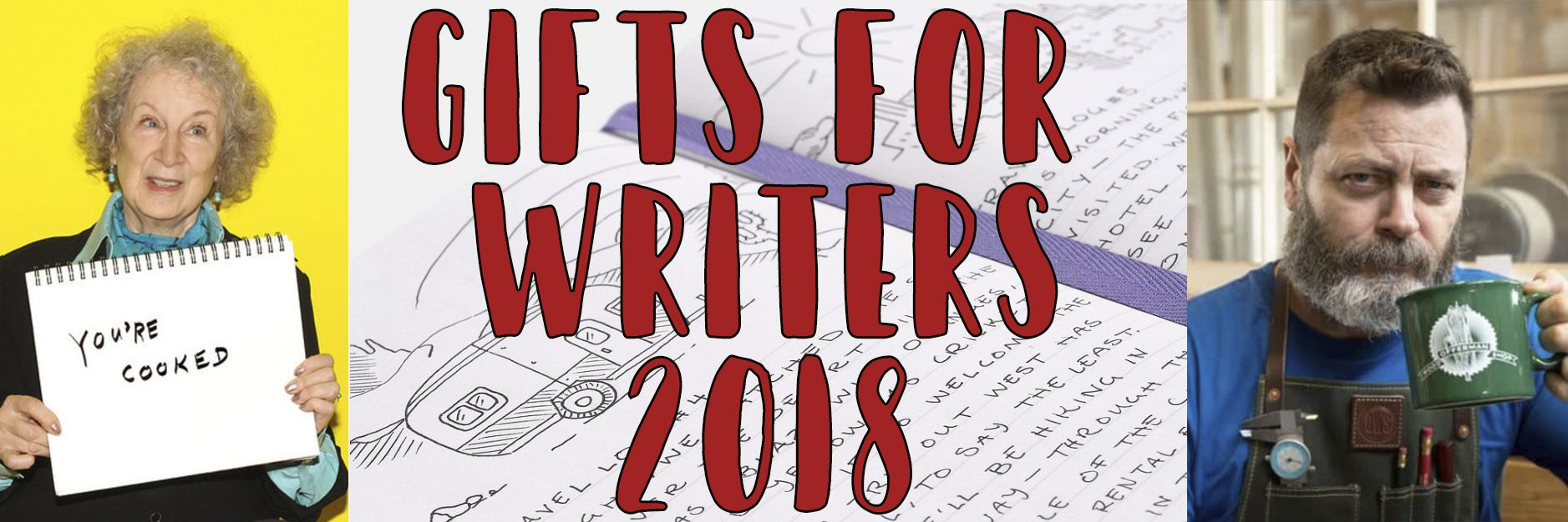 GiftsForWriters2018