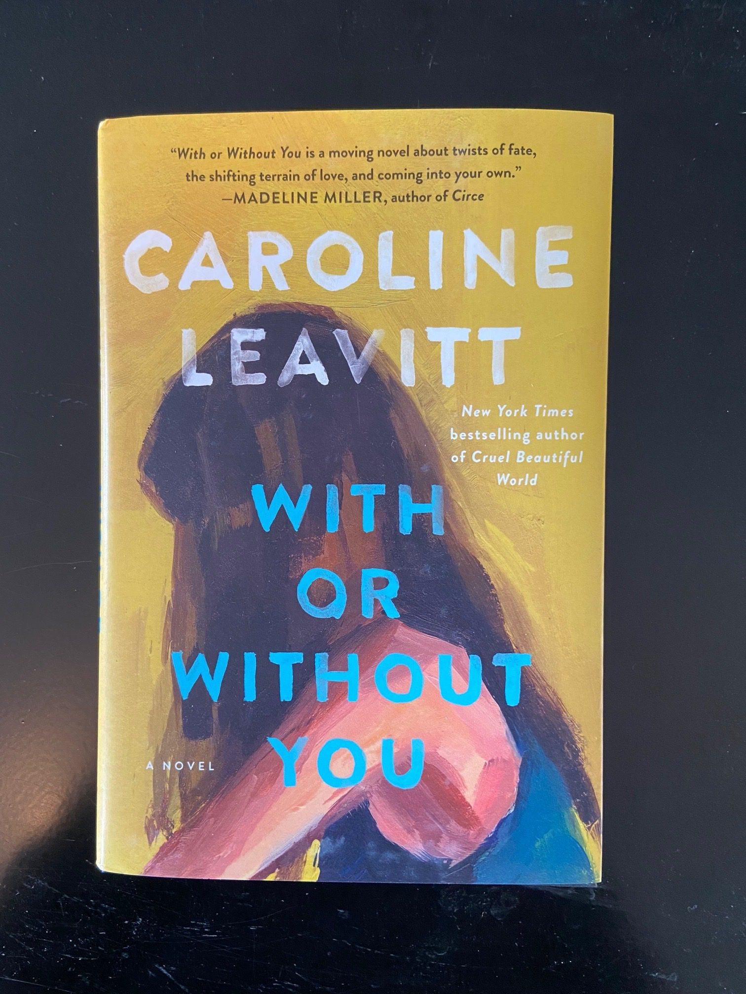 Caroline Leavitt: Five Things I Learned Writing With Or Without You