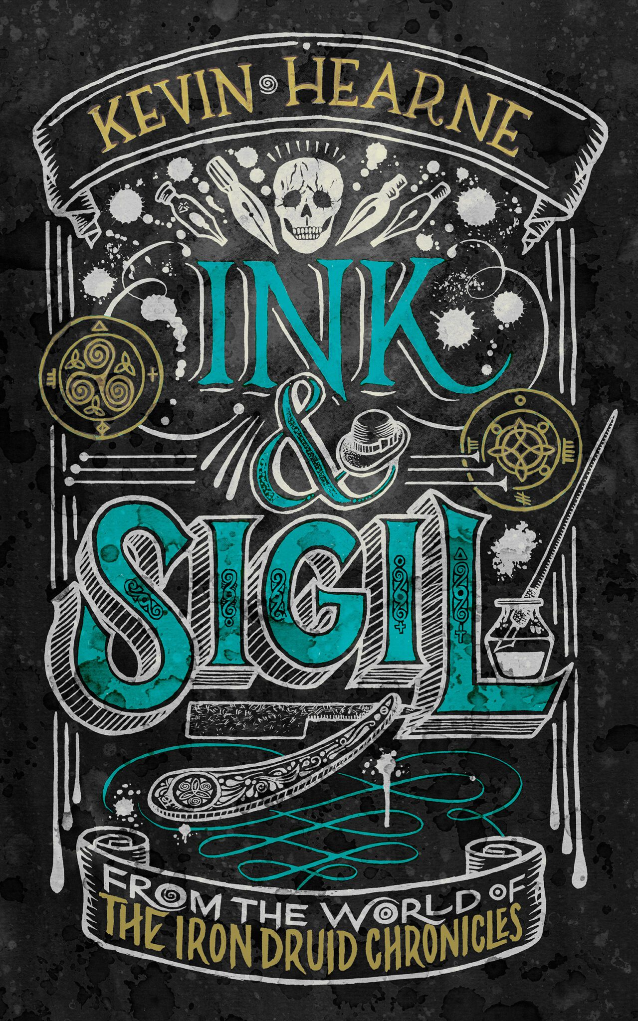 Kevin Hearne: Five Things I Learned Writing Ink & Sigil