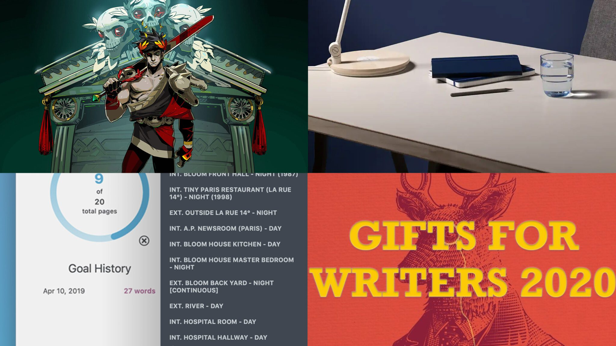 GIFTS FOR WRITERS 2020