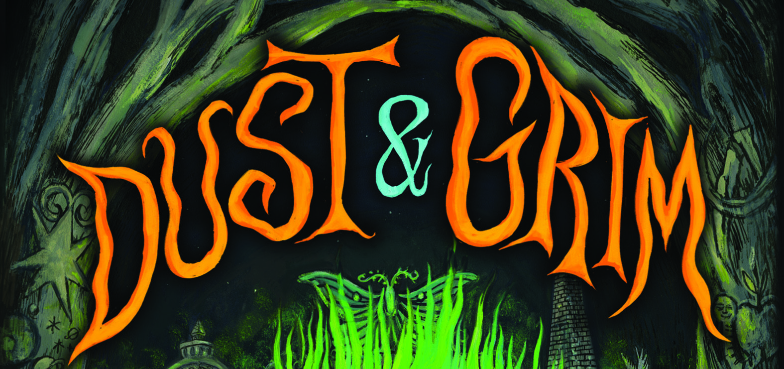 Cover Reveal: Dust & Grim!