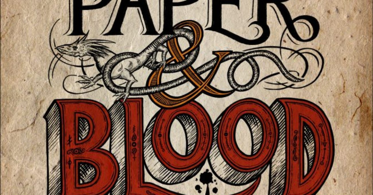Kevin Hearne: Five Things I Learned Writing Paper & Blood